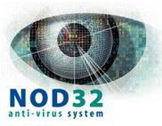 Nod 32 anti-virus system